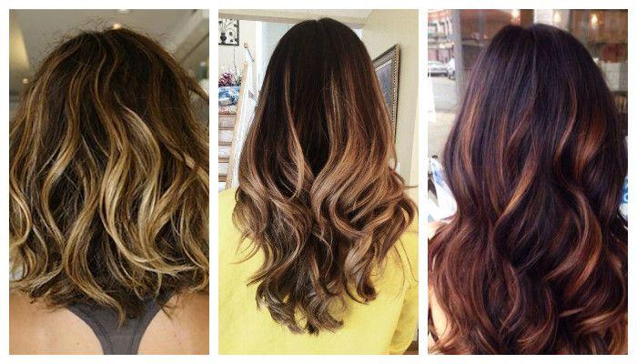 Колорирование волос: модная тенхника балаяж, фото