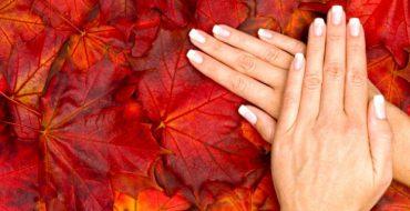 Осенний маникюр фото