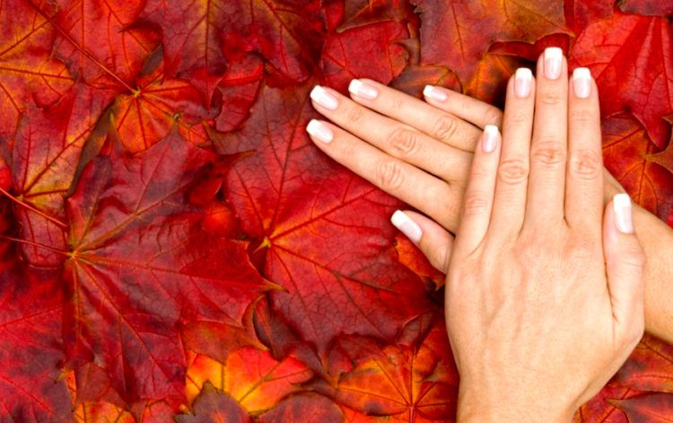 Осенний маникюр: 109 фото идей нейл-дизайна на осень на короткие и длинные ногти