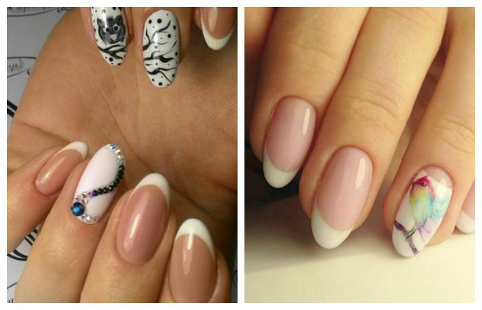 Тематические картинки на ногтях