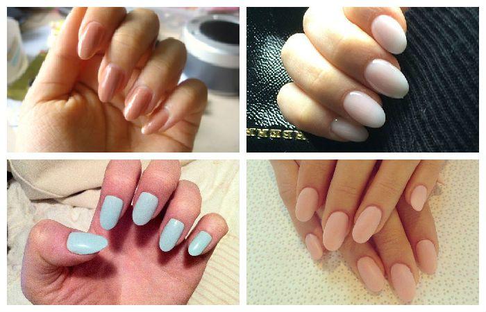 Тенденция маникюра: короткие овальные ногти