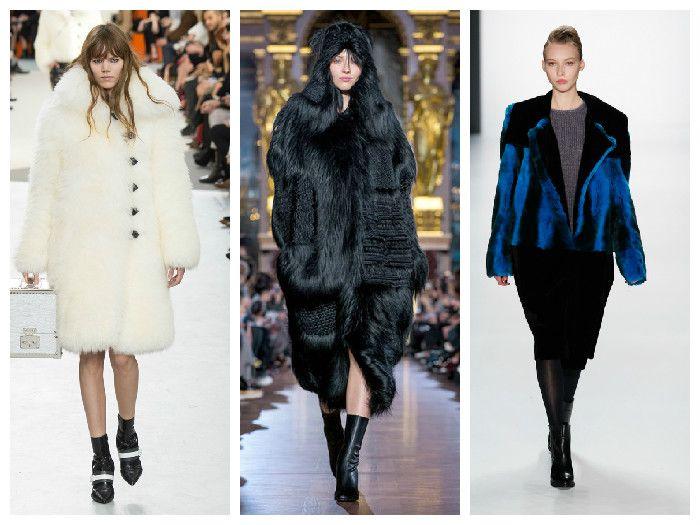 Модная одежда 2016: меховые изделия