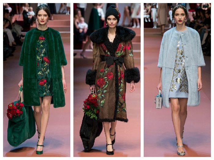 Модная одежда 2016: Dolce Gabbana