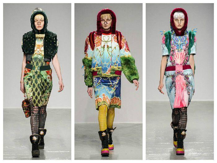Модная одежда 2016: Manish Arora