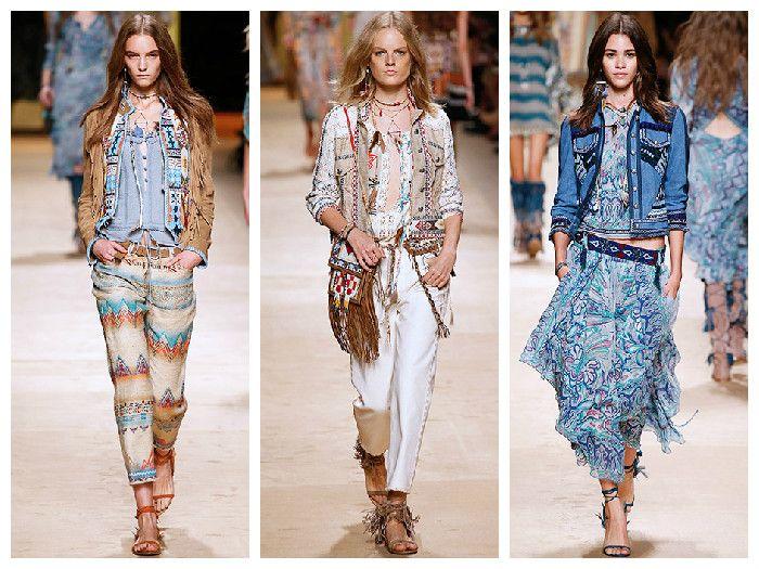 Модная одежда 2016: платья в стиле бохо