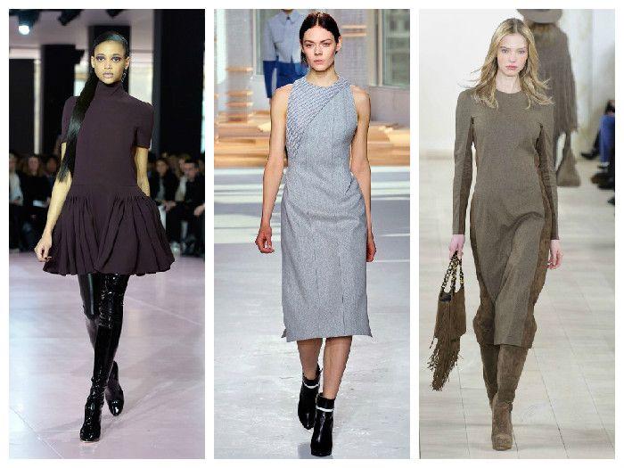 Модные платья для офиса. Коллекции Ralph Lauren, Hugo Boss, Dior