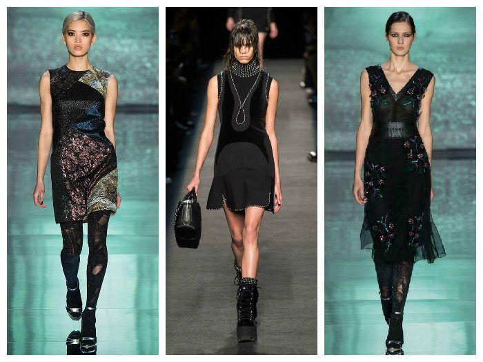 Модные платья Nicole Miller и Alexander Wang