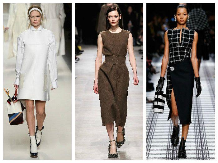 Модные платья Alexander Wang и Fendi