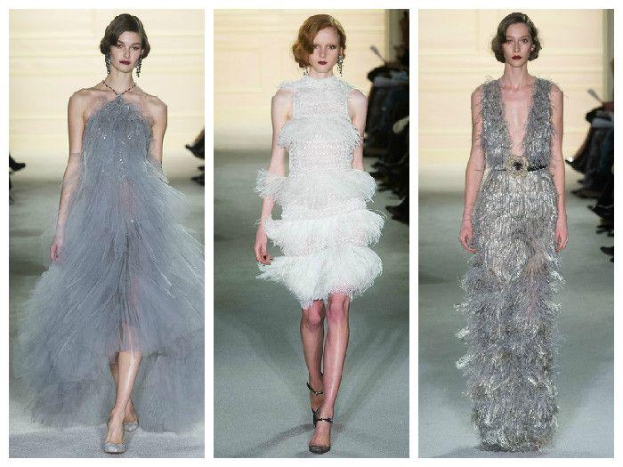 Модные вечерние платья: коллекция Marchesa