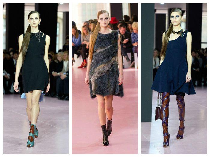Модные платья коллекция Dior