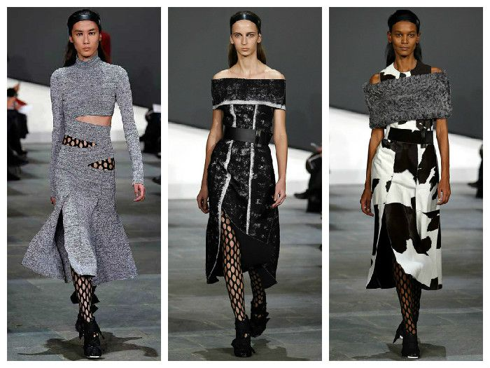 Модные платья коллекция Proenza Schouler
