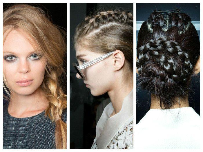 Модные прически: косы