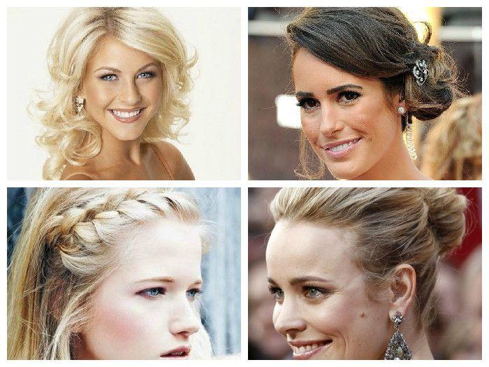 Фото причесок на средние волосы на каждый день