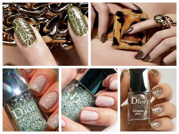 Зимний маникюр: коллекция цветов Dior