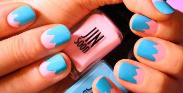 Дизайн коротких ногтей