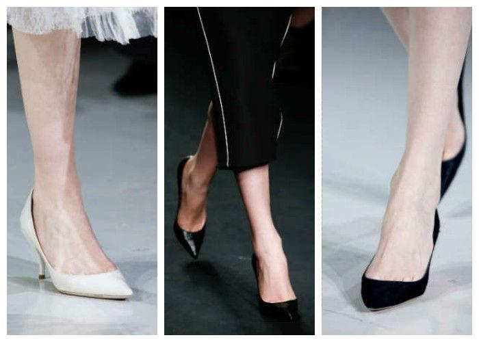 Модная обувь: классические лодочки