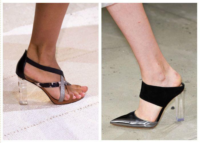 Модная обувь лето: микс серого и черного