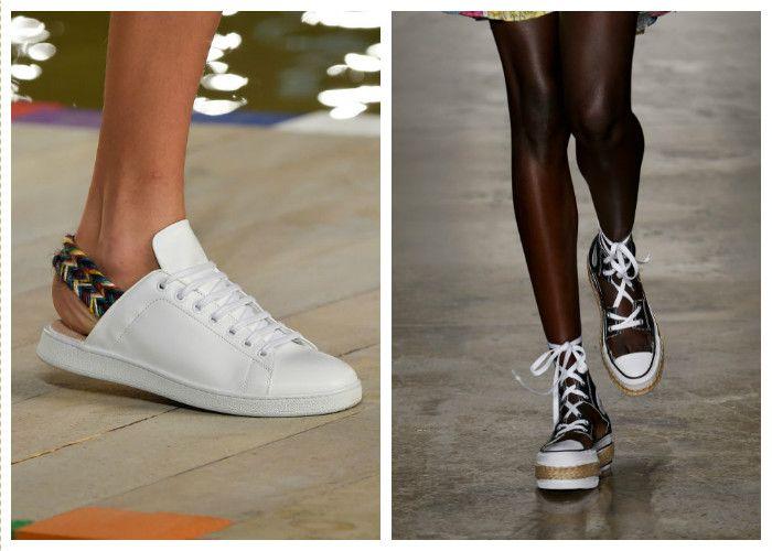 Модная обувь: удобные кеды