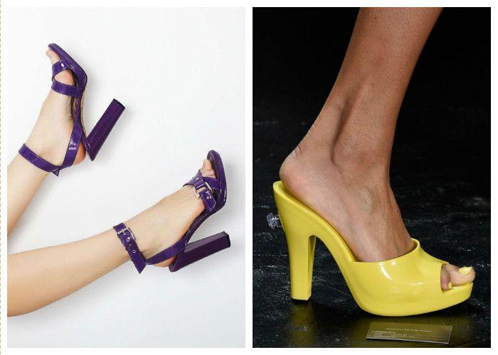 Модная женская обувь 2016: яркие цвета