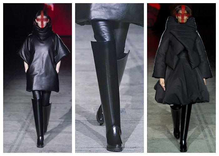 Модная обувь весна: резиновые сапоги