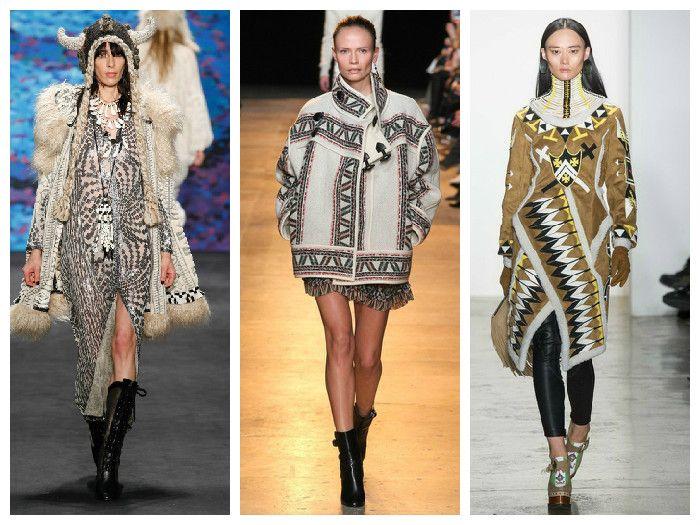 Модные куртки 2016 в этническом стиле