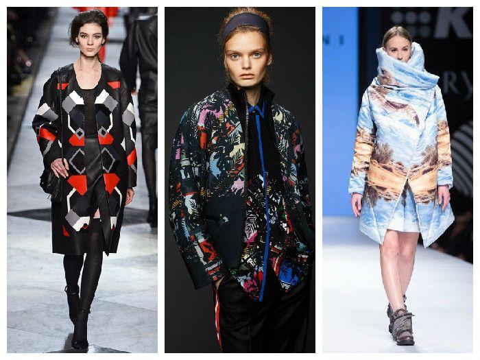 Модные куртки 2016 с интересным принтом