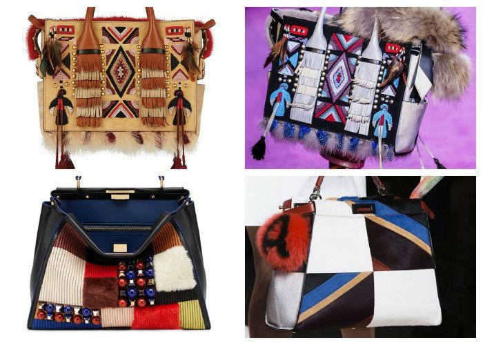 Модные сумки 2016: пэчворк и этно стиль