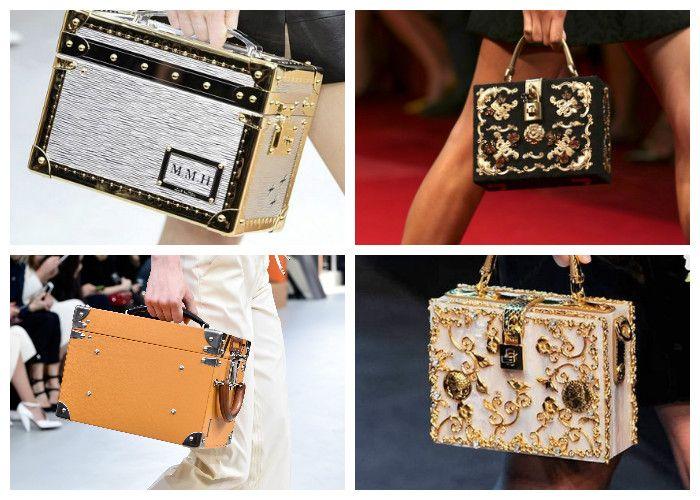 Модные сумки 2016: квадратная форма