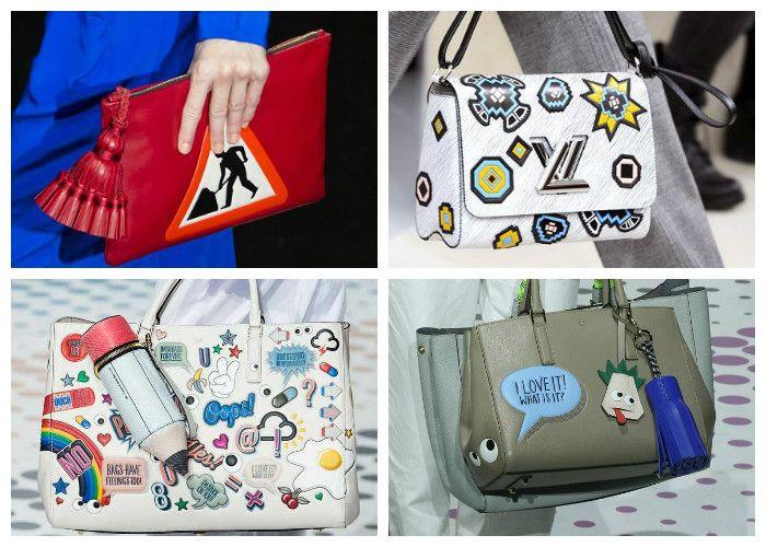 Модные сумки 2016: стильные аппликации