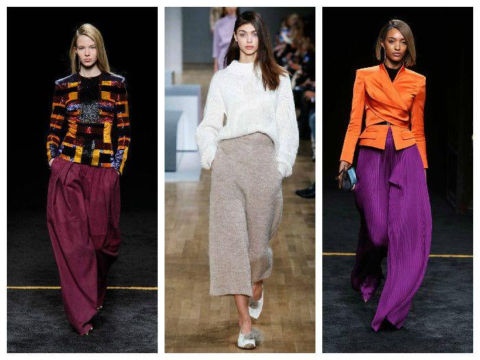 Модные юбки-брюки