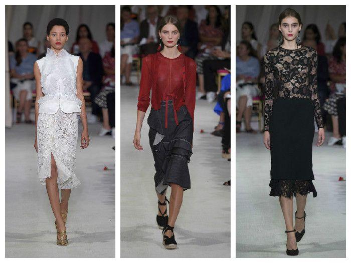 Модные юбки 2016: фасон годе, коллекция Oscar de la Renta