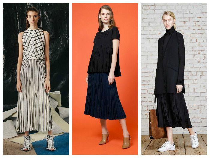 Модные юбки 2016: удлиненные фасоны