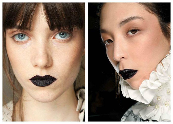 Модный макияж 2016: акцент на губы