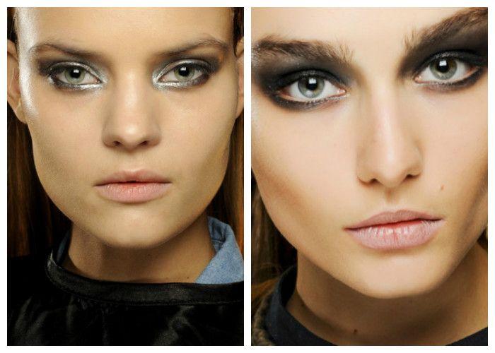 Модный макияж 2016: акцент на глаза