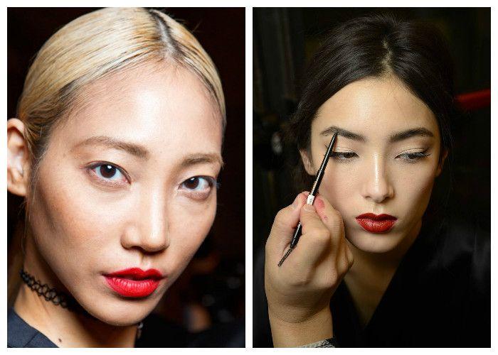 Модный макияж 2016: яркие губы