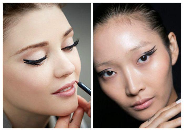 Модный макияж 2016: стрелки