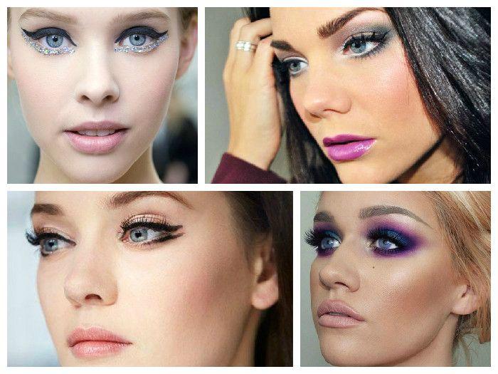 Новогодний макияж 2016: фото