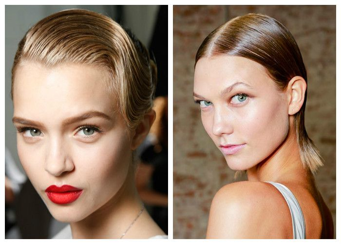 Прически на короткие волосы 2018: эффект мокрых волос