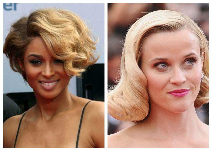 Прически на короткие волосы: женственные локоны