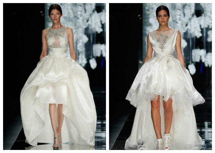 Короткие свадебные платья: Yolan Cris
