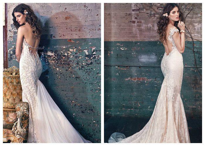 Свадебные платья со шлейфом Galia Lahav