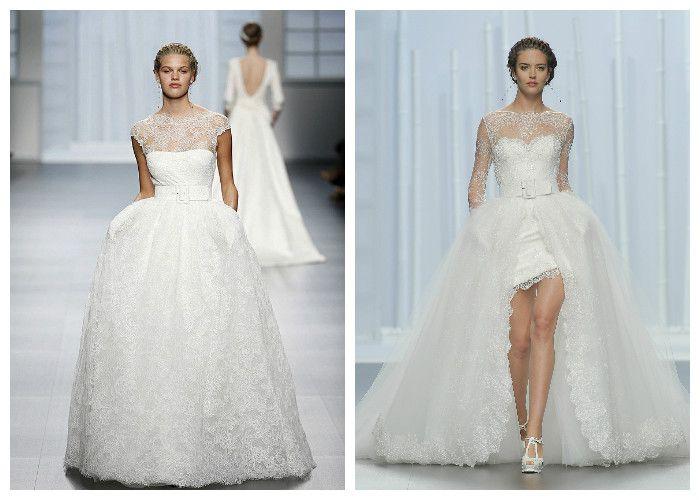 Свадебные платья с рукавами бренда Rosa Clara