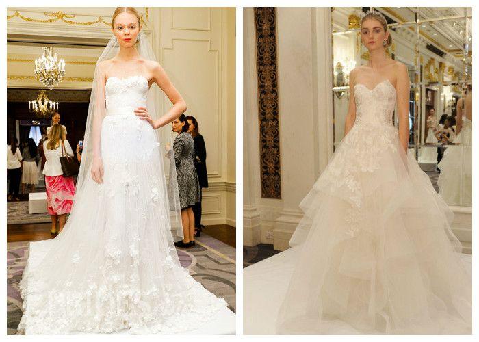 Пышные свадебные платья Marchesa