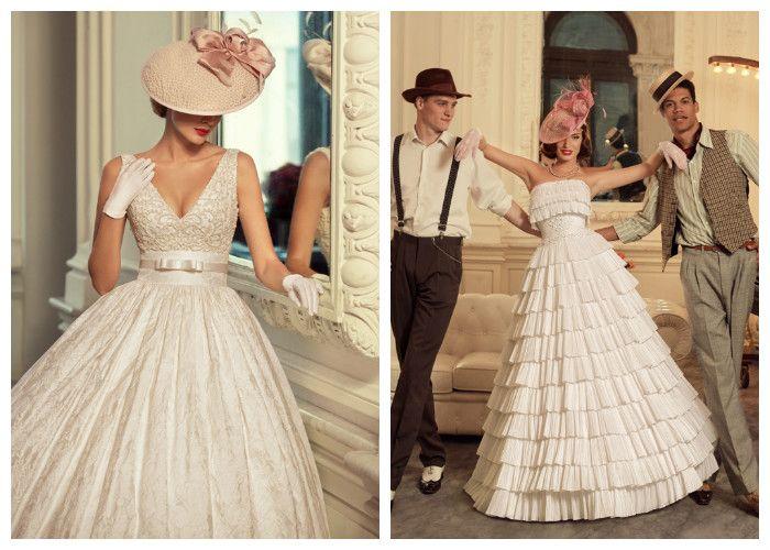 Новинки свадебных платьев: ретро образы Tatiana Kaplun