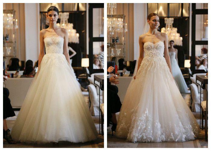 Пышные свадебные платья Monique Lhuillier