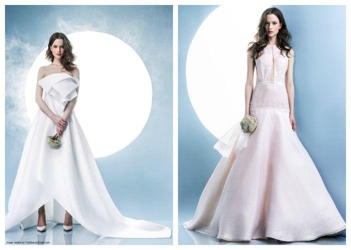Свадебные платья необычного фасона