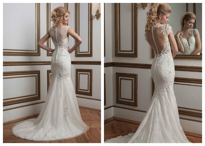 Свадебные платья со шлейфом