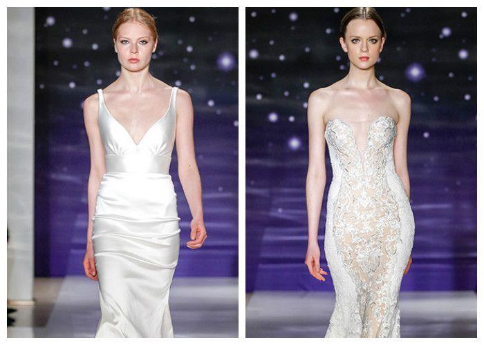 Свадебные платья облегающего фасона
