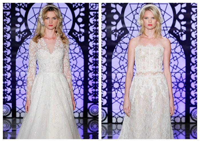 Модные свадебные платья Reem Acra