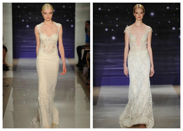 Свадебные платья с вышивкой и кружевом